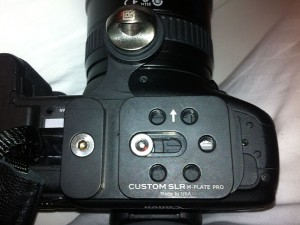 M-Plate Pro on my Canon 7D